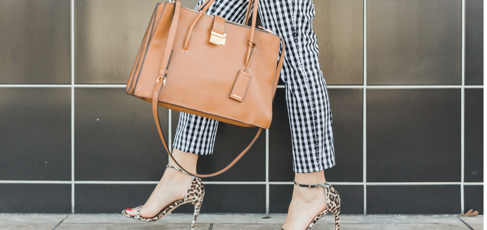 gingham ankle pants - adored by alex