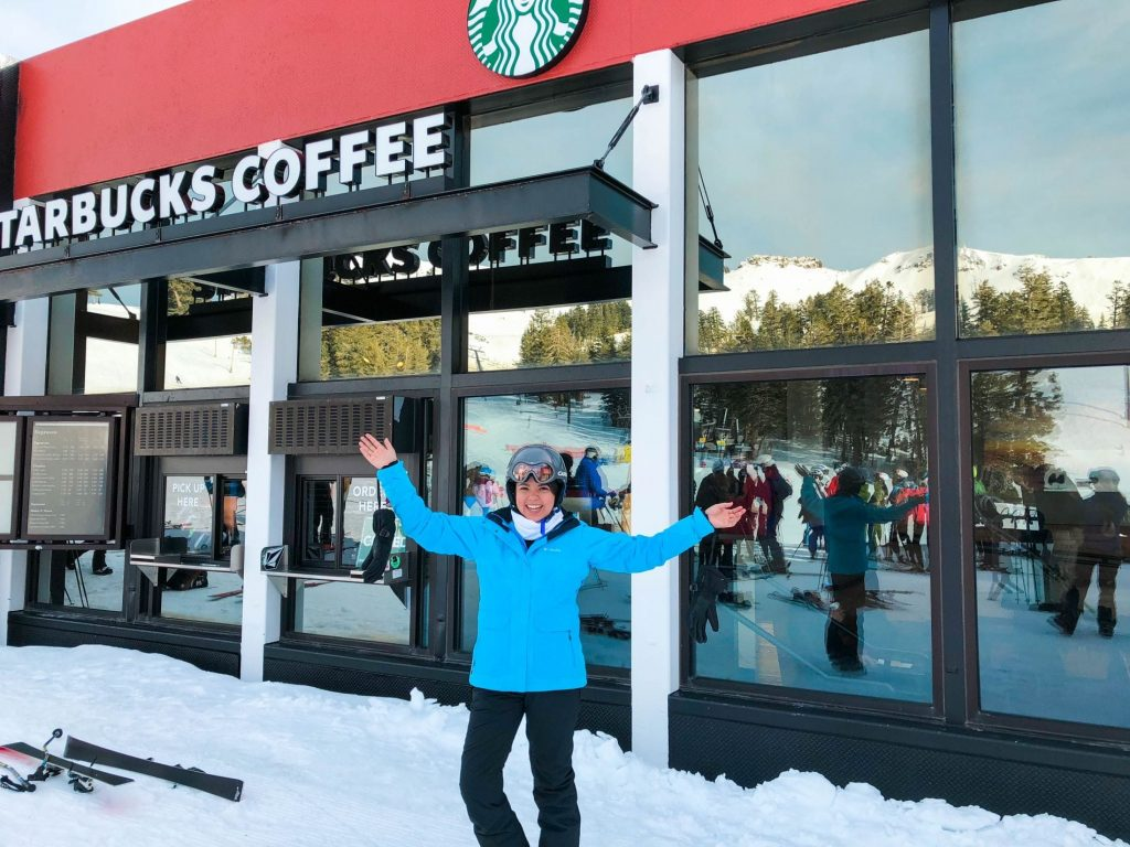 Starbucks Ski-Thru, Squaw Valley