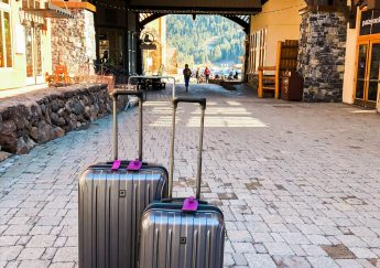 The Village at Squaw Valley, Delsey luggage set