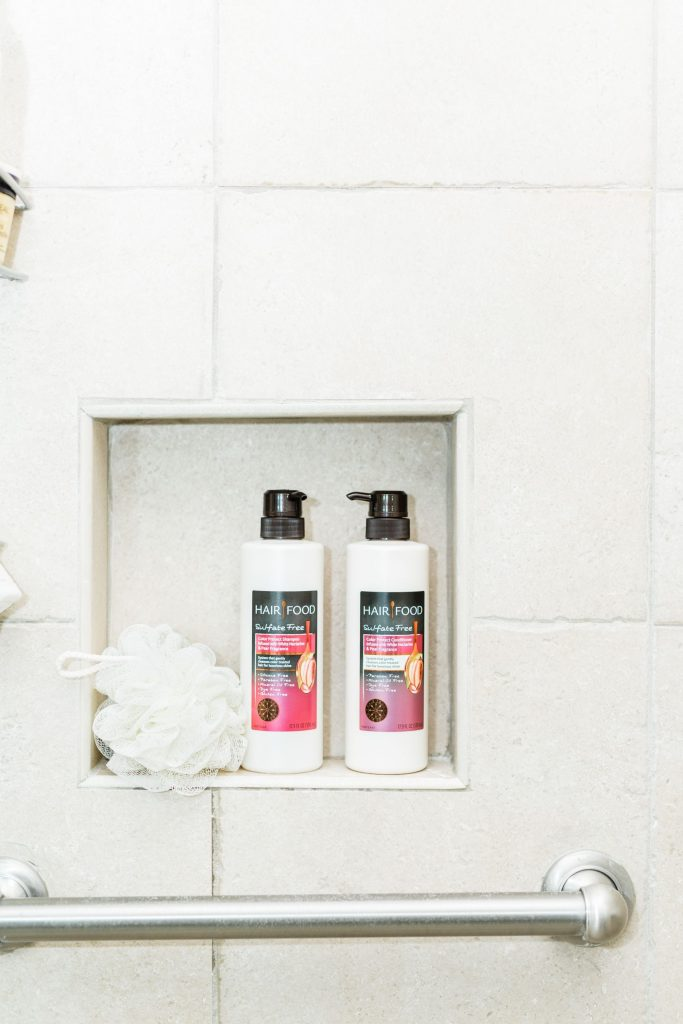 clean beauty and haircare shampoo and conditioner