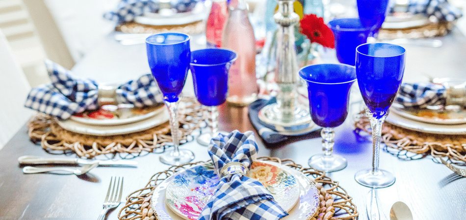 Easy and chic Mother's Day tablescape - Adored by Alex