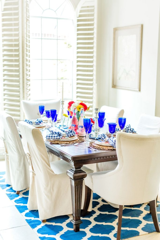 Spring dining room decorating and decor