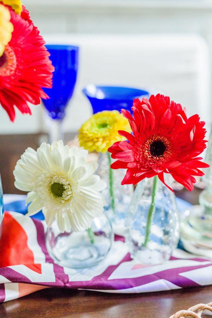 bud vases for spring