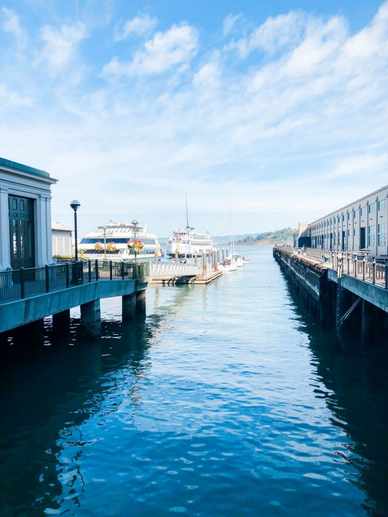 Pier buildings, San Francisco Embarcadero