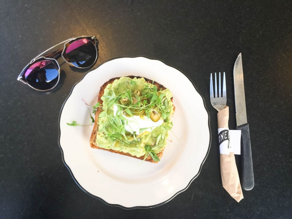 Avocado toast, San Francisco