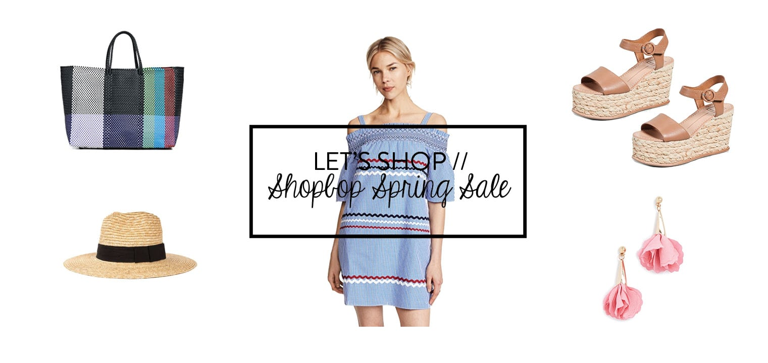 Shopbop spring sale picks 2018 - Adored by Alex