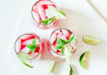 Hibiscus Lime Cocktails