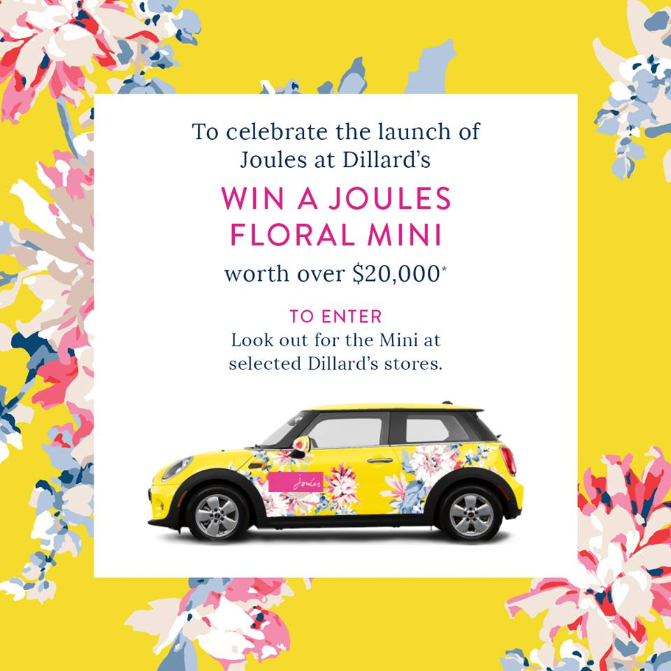 Joules mini cooper | Adored by Alex