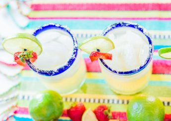 #NationalMargaritaDay strawberry margarita recipe | Adored by Alex