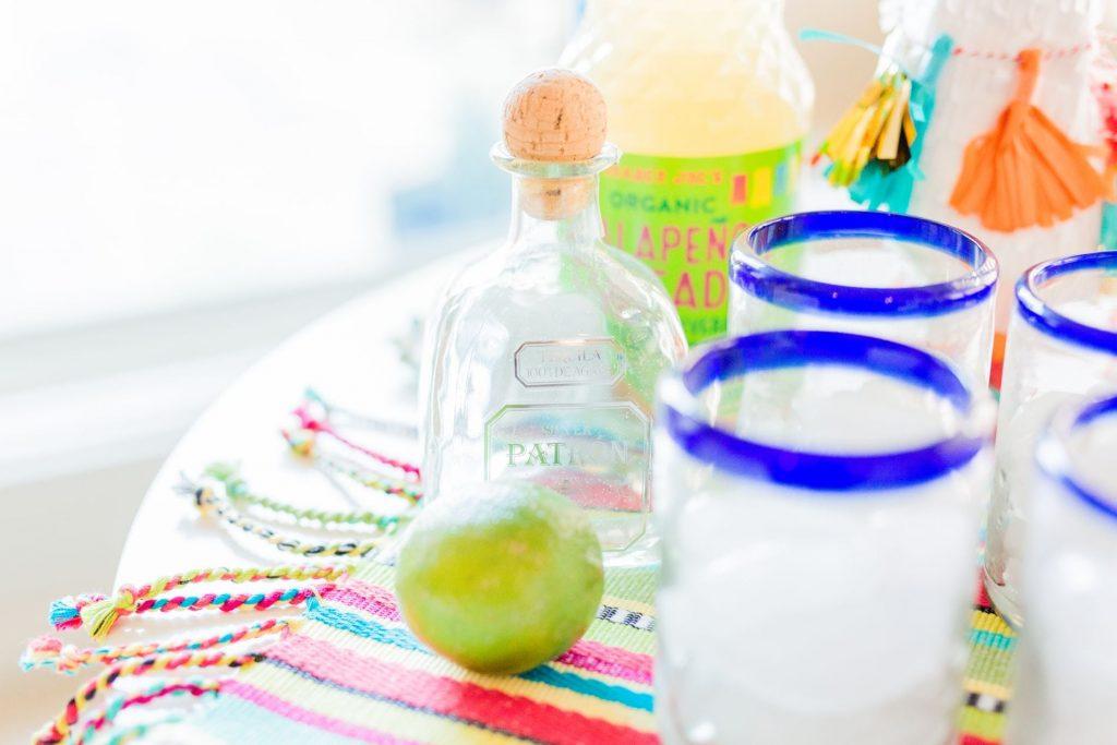 Patron Tequila margaritas