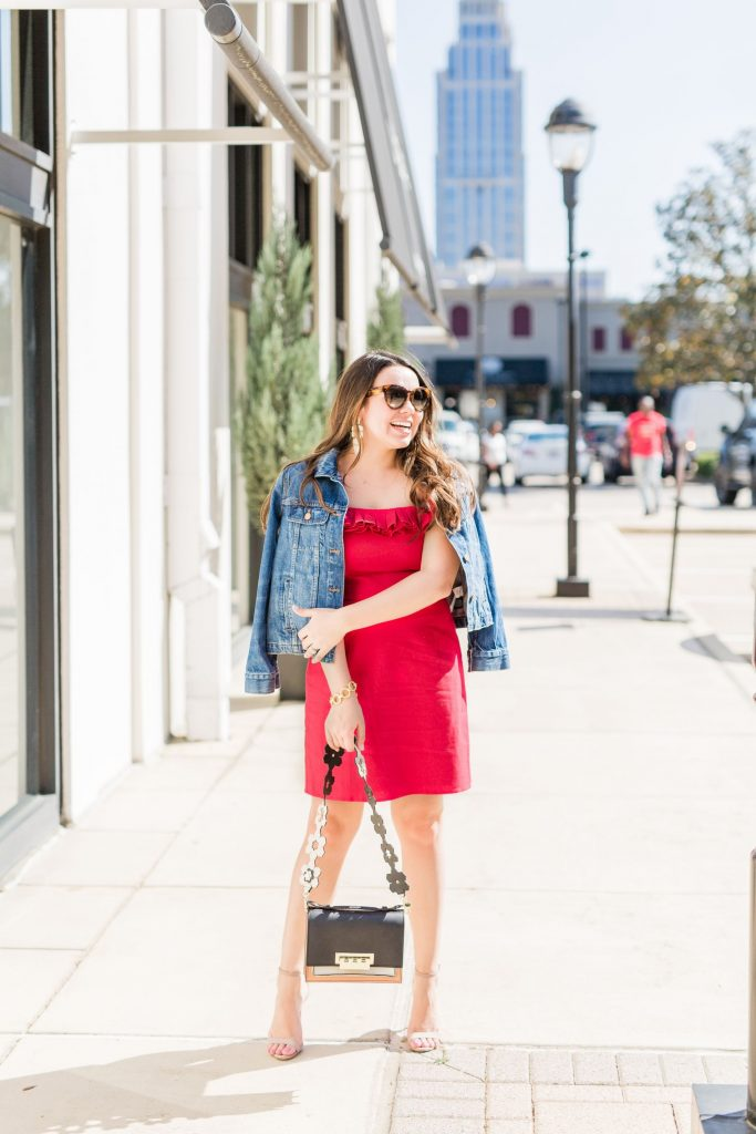 red linen dress - adored by alex