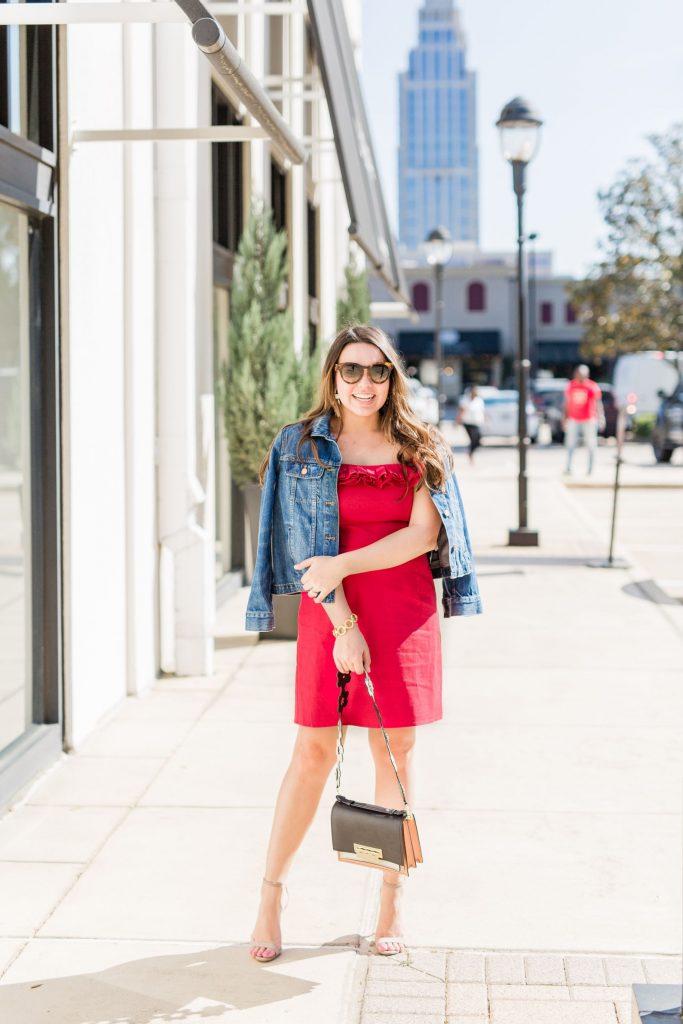 red linen dress, spring dress styles
