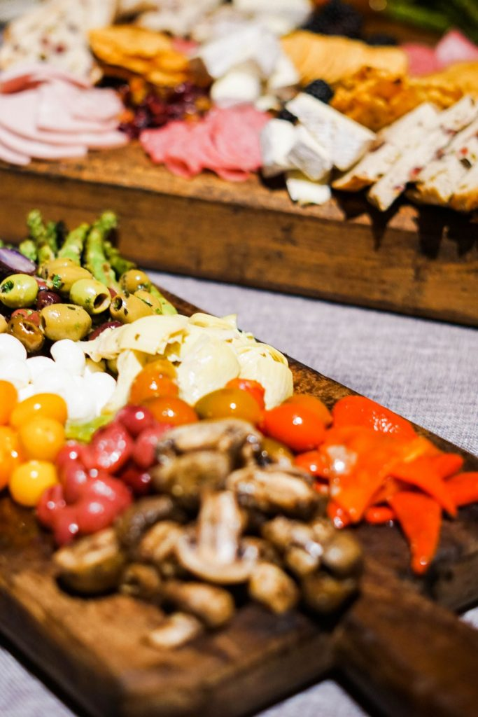 Lulu's charcuterie board, Round Top, Texas