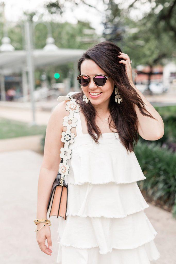 statement bag straps, flower handbag strap