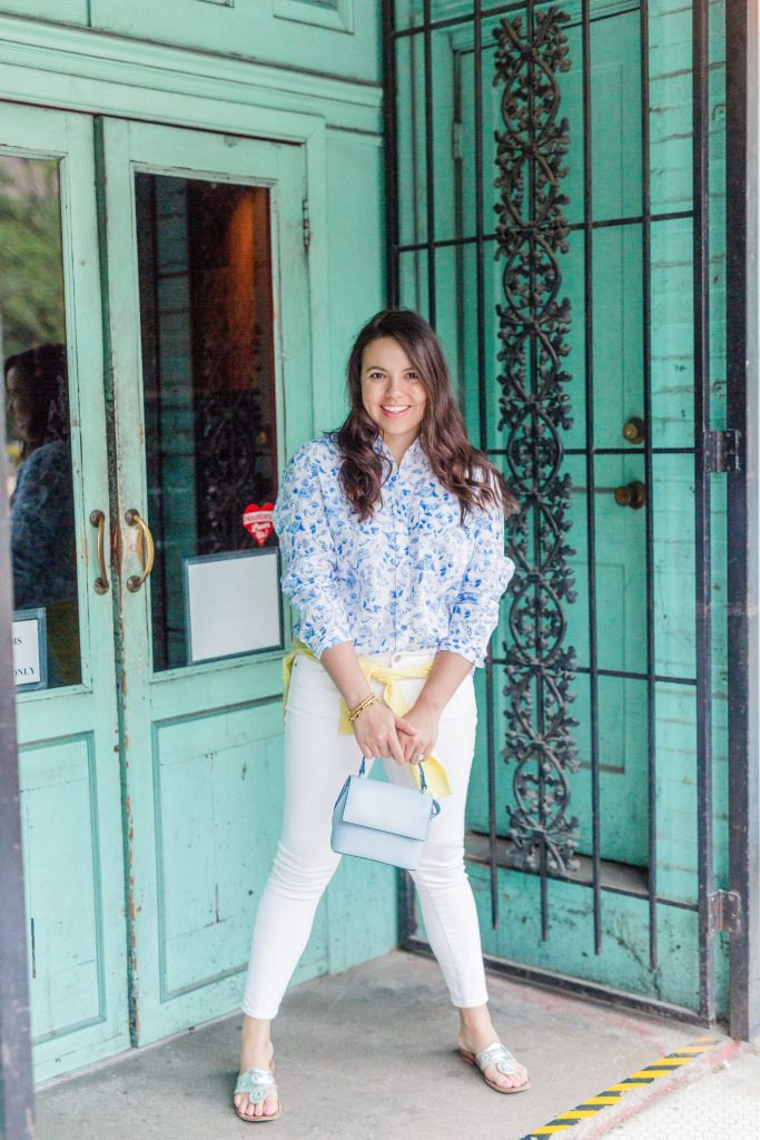preppy summer outfit ideas | Adored by Alex