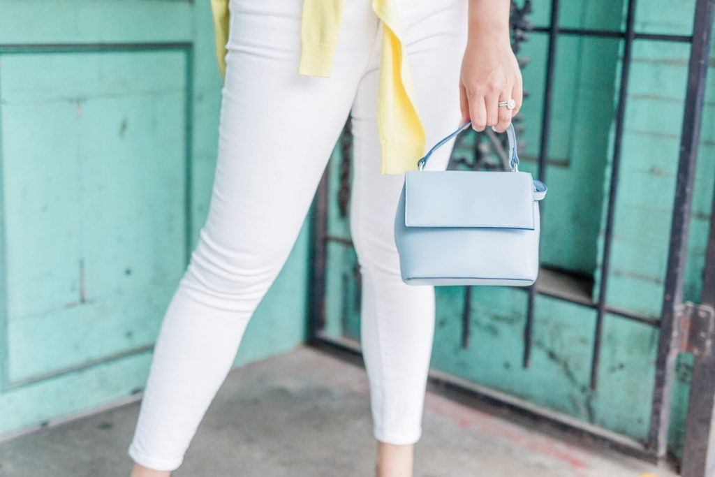 mini top-handle purse
