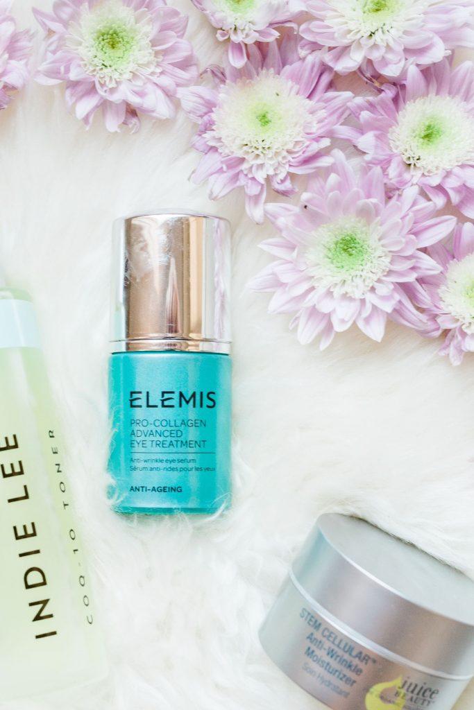 Elemis eye serum, natural skincare