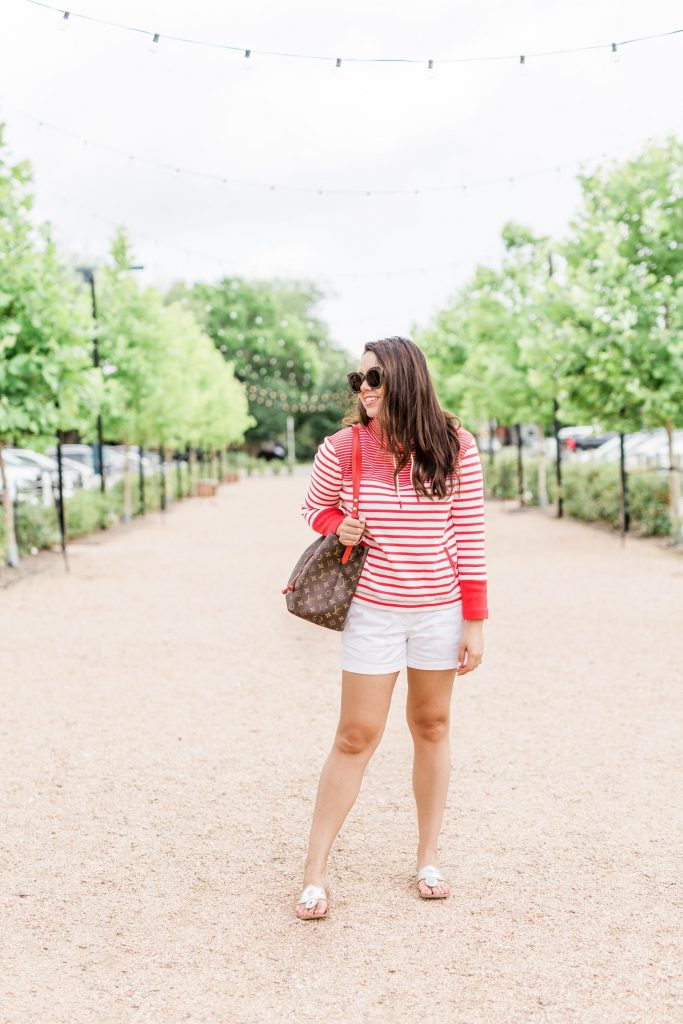 preppy summer outfit idea