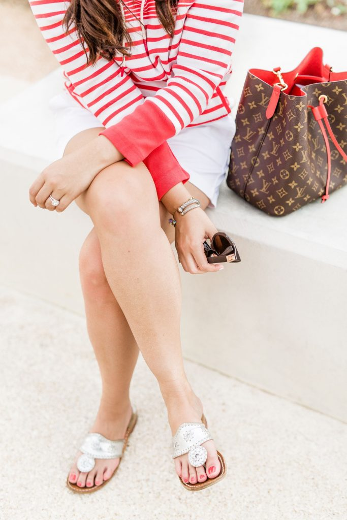 Jack Rogers sandals outfit