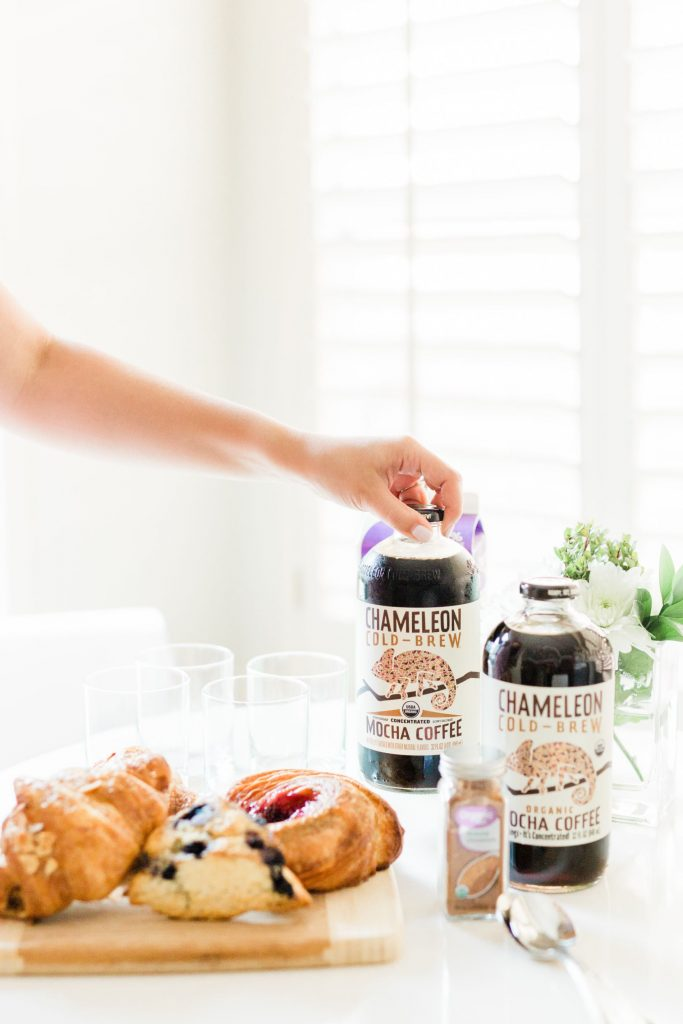 Morning coffee with Chameleon Cold-Brew