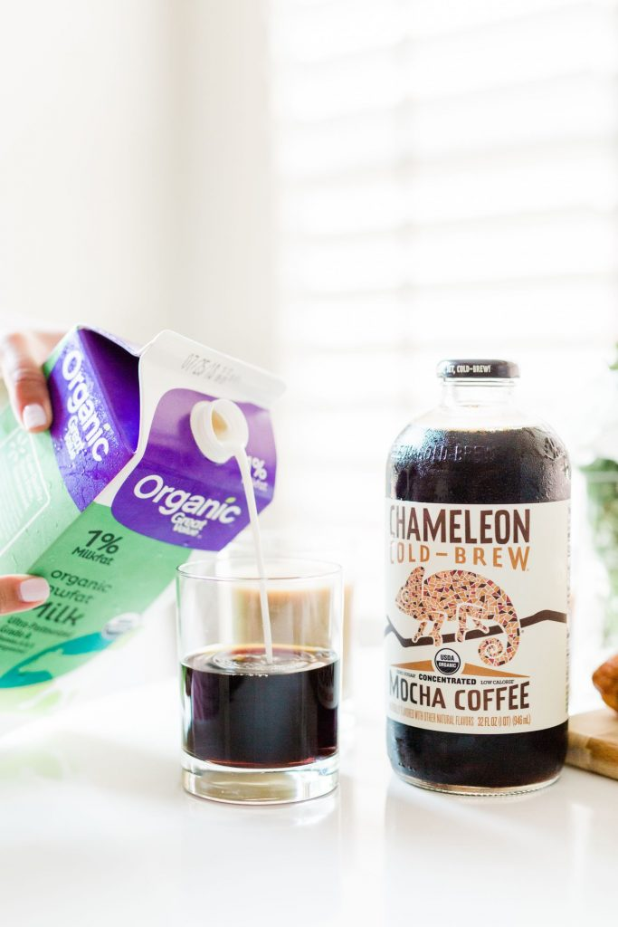 Chameleon Cold-Brew with low-fat milk