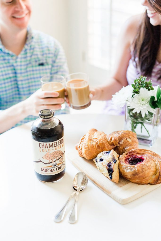 Chameleon Cold-brew coffee summer recipe ideas | Adored by Alex