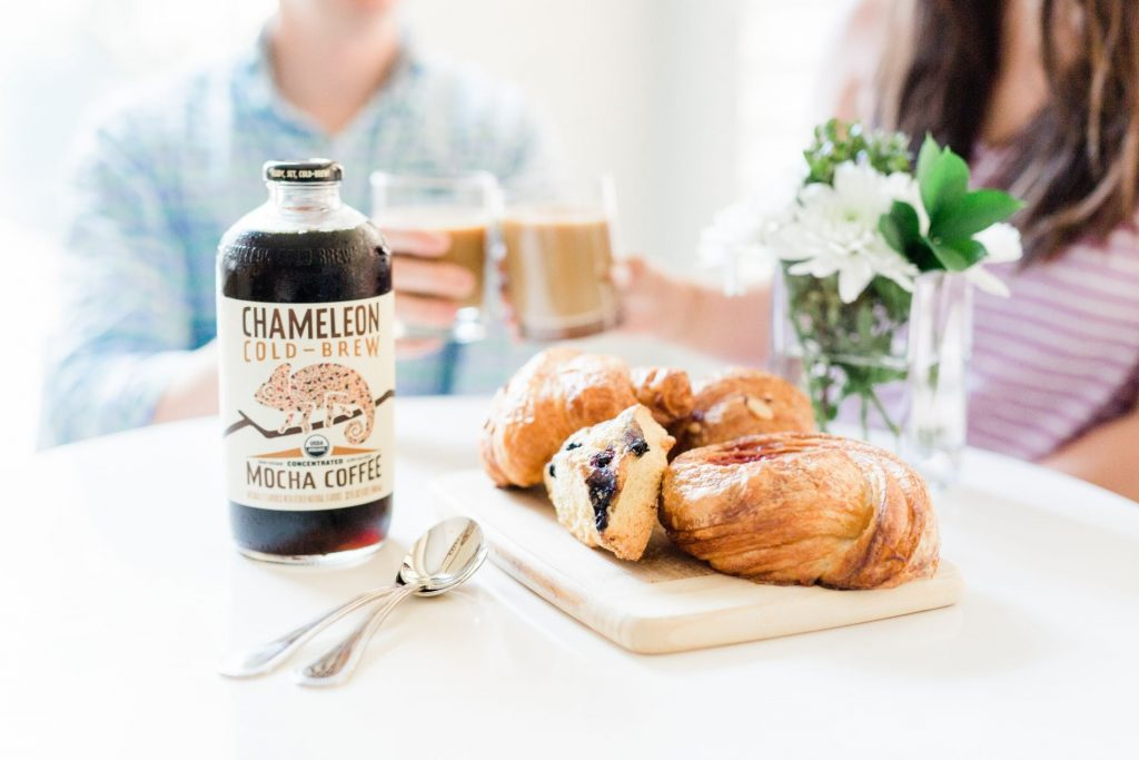 Morning pastries and cold-brew coffee | Adored by Alex