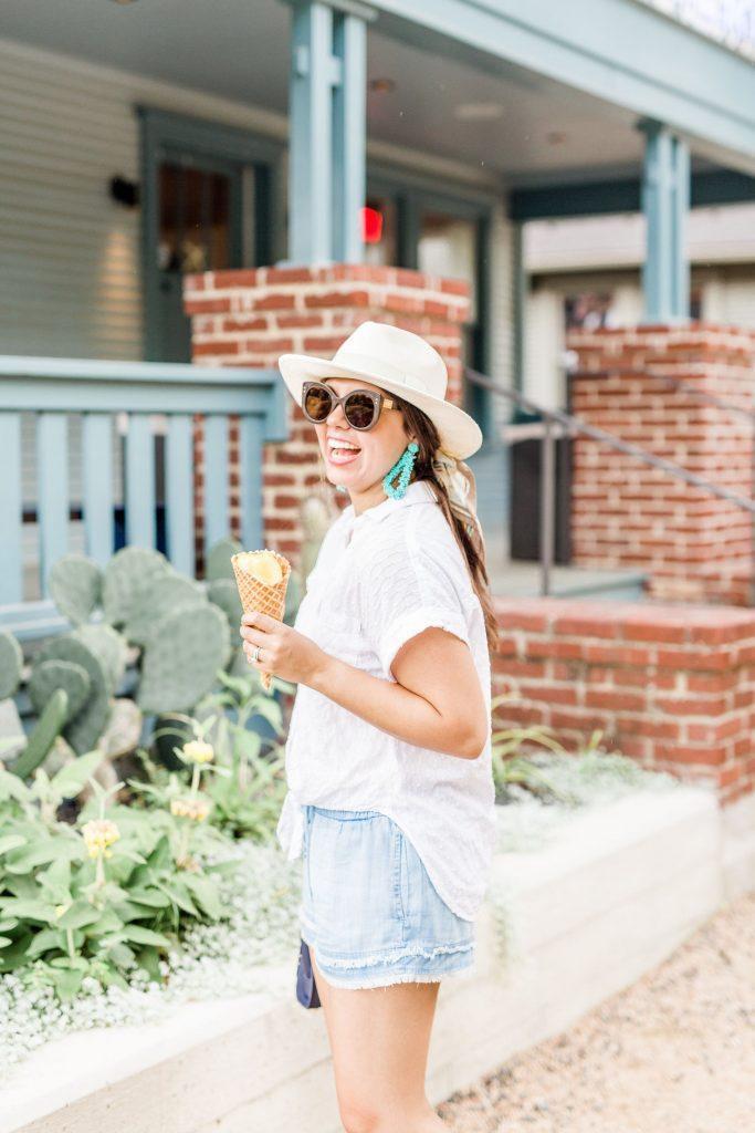 best ice cream in Houston, summer in #HTX