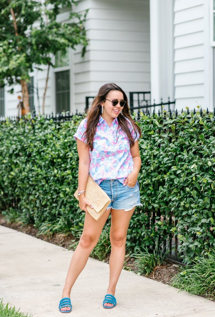 Vineyard Vines summer outfit ideas for women, preppy style