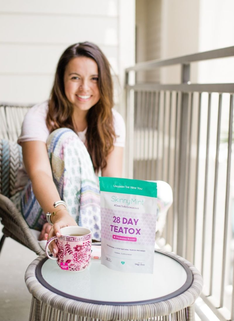 How I Detox Mid-Summer with SkinnyMint TeaTox