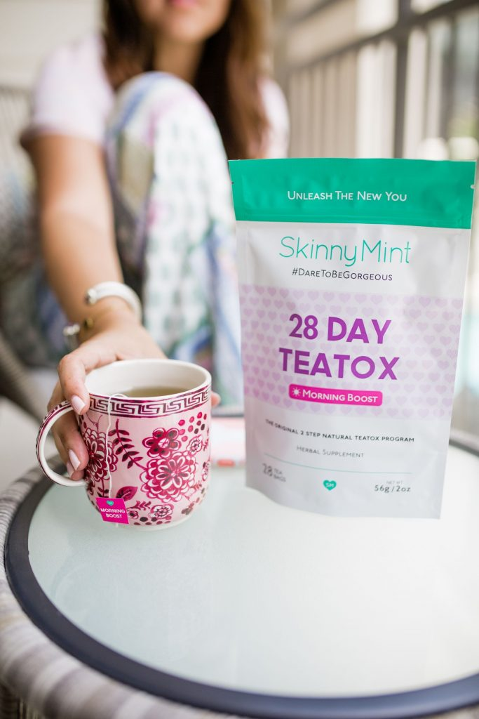 Skinnymint 28 day teatox review