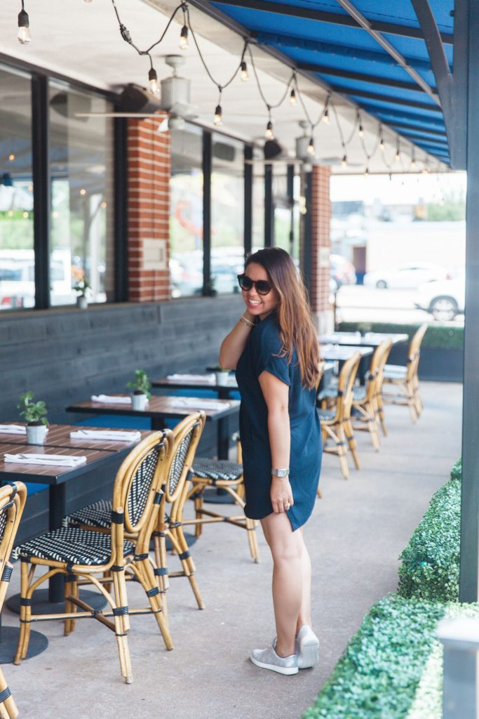 navy crepe shift dress, Nordstrom Anniversary sale