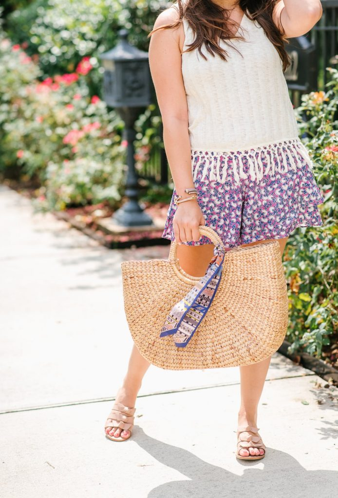basket bag for summer