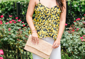 Ruffled Lemon Tank