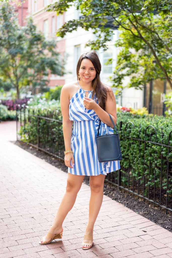 what to wear to a late-summer wedding | Adored by Alex