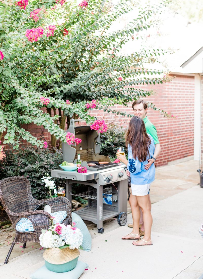 Three tips for an outdoor stay-at-home date night