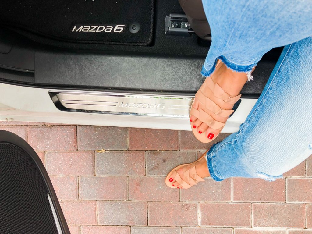 Kaanas sandals, Mazda6 siganture | Adored by Alex