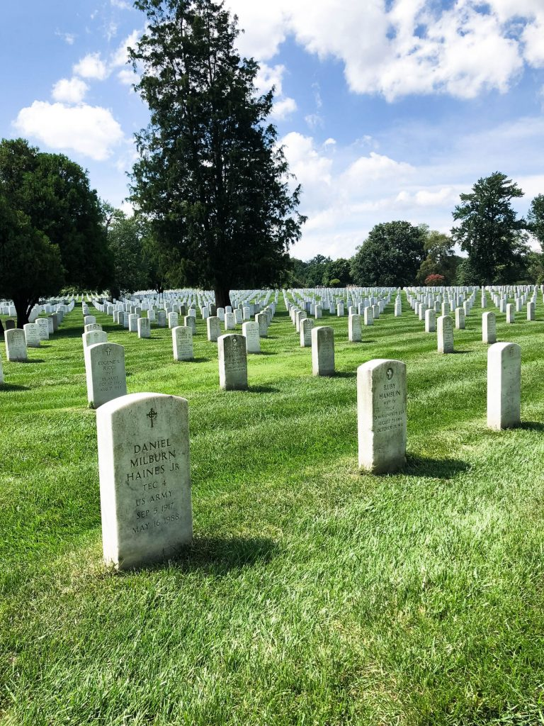 Arlington National Cemetery, to do in DC | Adored by Alex