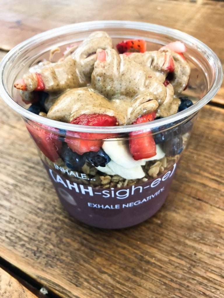 Acai bowls in DC, Washington DC eats