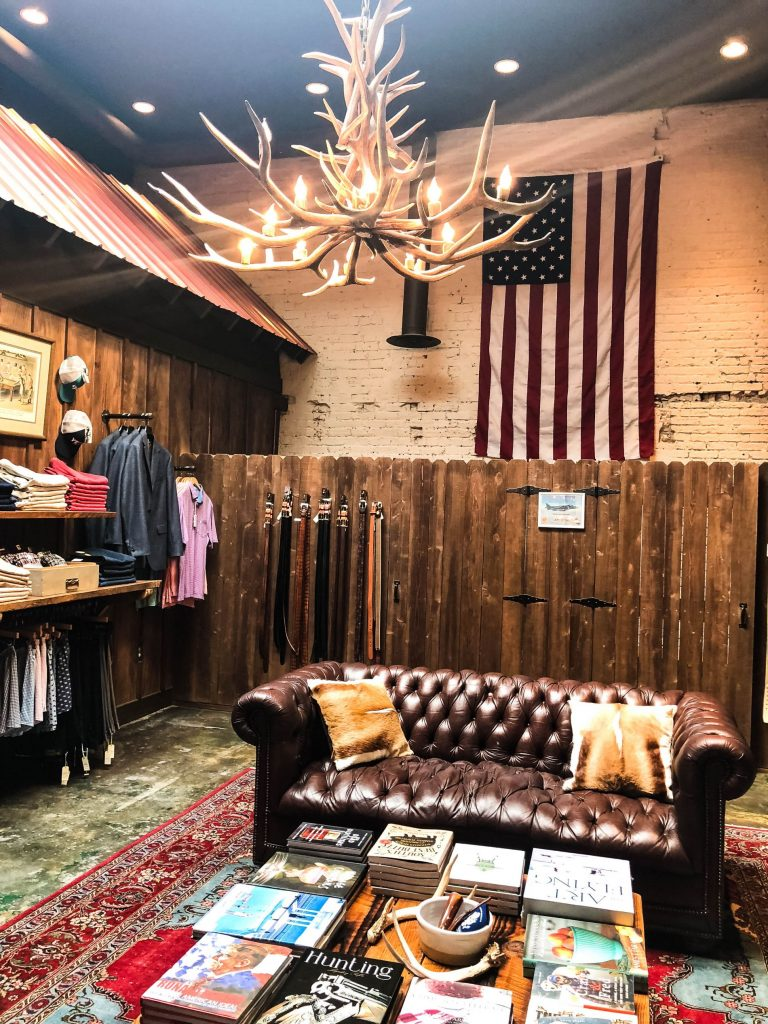 Onward Reserve, Georgetown men's store