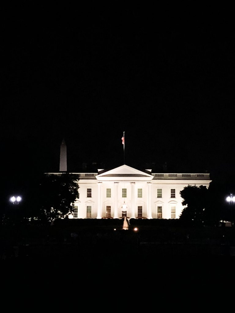 Visit the White House at night | DC travel tips Adored by Alex