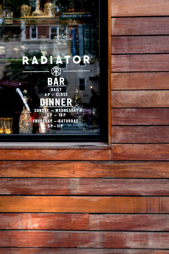 Radiator Bar, Washington DC, Logan Circle | Adored by Alex