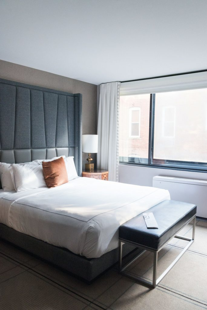 Minimalistic bedroom design, Kimpton Mason & Rook