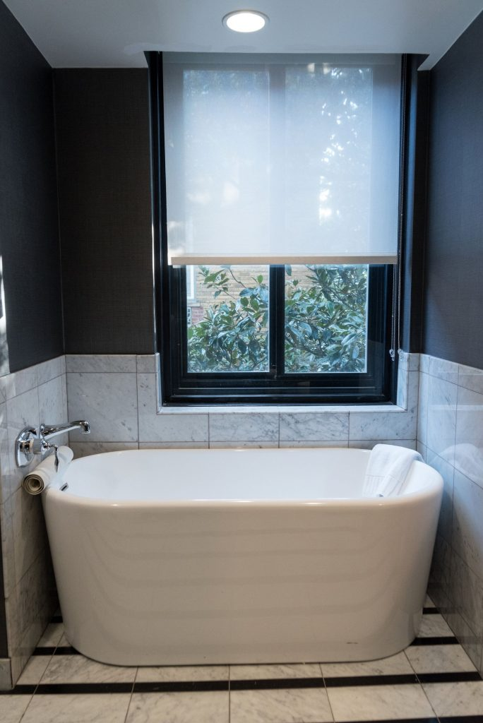 perfect soaking tub, hotel interiors | Adored by Alex