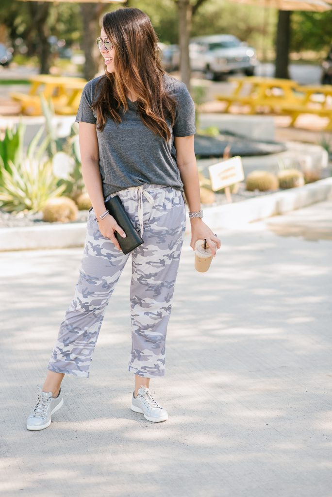 Camoflauge pants outfit ideas