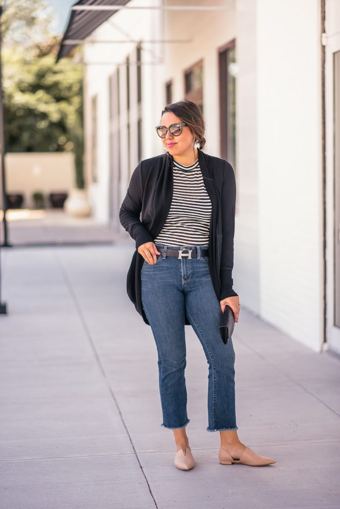 How to wear an Hermes belt and jeans
