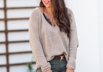 Budget-friendly Slouchy Sweater