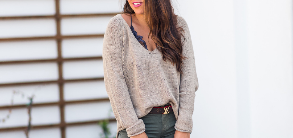 Budget-friendly Slouchy Sweater | Adored by Alex