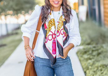 Styling a Vintage Hermes Scarf