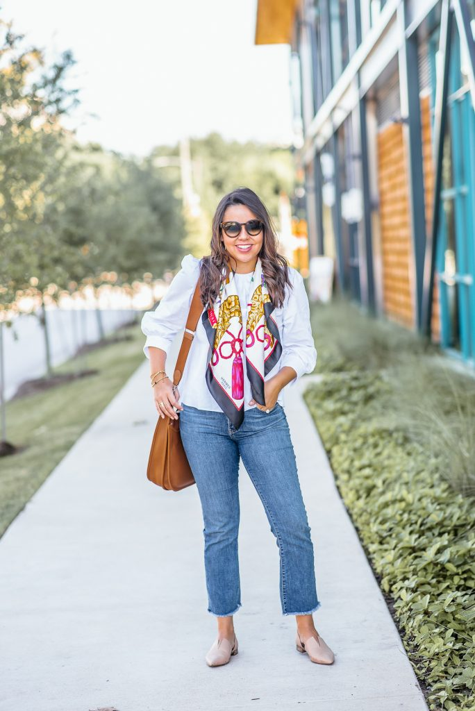 how to wear frayed, boyfriend denim